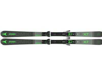 ATOMIC Herren Racing Ski REDSTER X7 AW + FT 12 GW Grau
