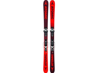 ATOMIC Ski-Set PUNX FIVE + WARDEN MNC 11 DT Lila