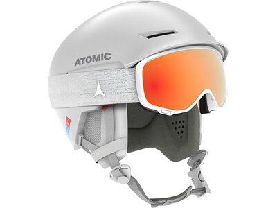 ATOMIC Skihelm REVENT+ AMID Weiß