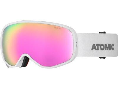 ATOMIC Skibrille COUNT S HD Weiß