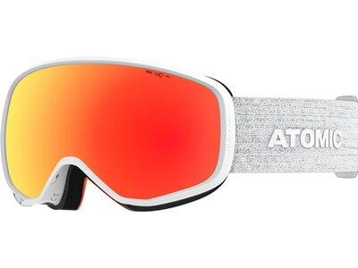 ATOMIC Skibrillen COUNT S 360° HD Weiß