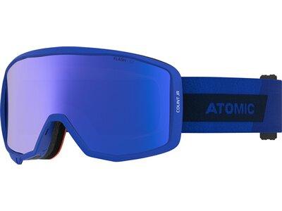 """ATOMIC Kinder Skibrille """"Count JR Cylindrical"""" Blue Blau"""