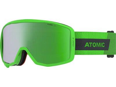 """ATOMIC Kinder Skibrille """"Count JR Cylindrical"""" Green Grün"""