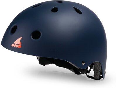 ROLLERBLADE Kinder Helm Blau