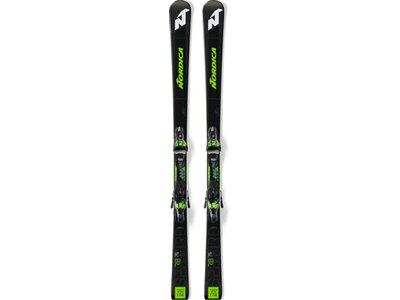 NORDICA Herren Racing Ski DOB.SPITF.76 RB FDT+XCELL12FDT Schwarz