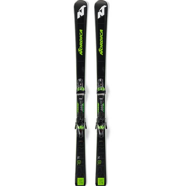 NORDICA Herren Racing Ski DOB.SPITF.76 RB FDT+XCELL12FDT