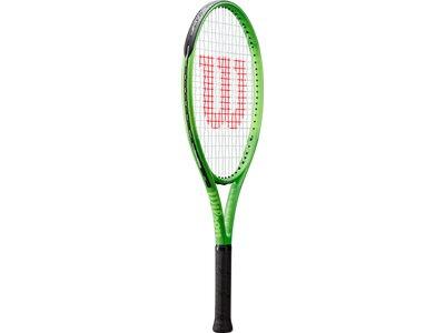 WILSON Kinder Tennisschläger BLADE FEEL 25 Grün