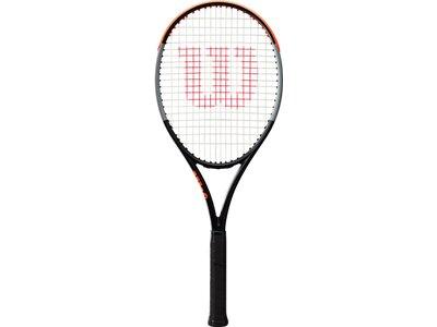 WILSON Herren Tennisschläger BURN 100 V4.0 TNS RKT Weiß