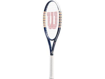 WILSON Herren Tennisschläger ROLAND GARROS EQUIPE HP TNS RKT Blau
