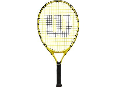 WILSON Kinder Tennisschläger MINIONS 21 Schwarz