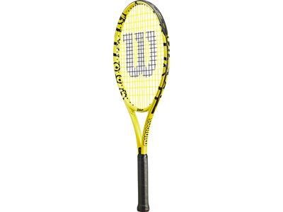 WILSON Kinder Tennisschläger MINIONS 25 Schwarz