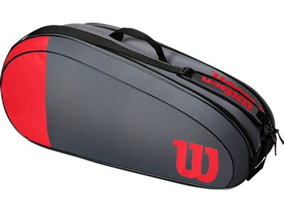 WILSON Tasche TEAM 6PK Grau
