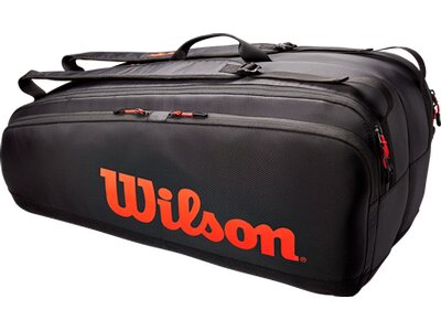 WILSON Tasche TOUR 12 PK Schwarz