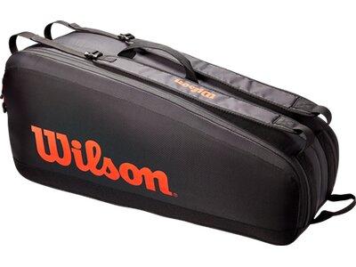 WILSON Tasche TOUR 6 PK Schwarz