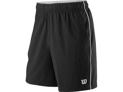 WILSON Herren Shorts M COMPETITION 8 SHORT Schwarz