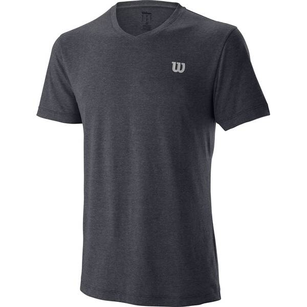 WILSON Herren Shirt M TRAINING V-NECK TEE