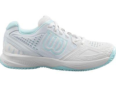 WILSON Damen Tennisoutdoorschuhe KAOS COMP 2.0 Silber
