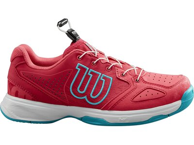 WILSON Kinder Tennisoutdoorschuhe KAOS JUNIOR QL Rot