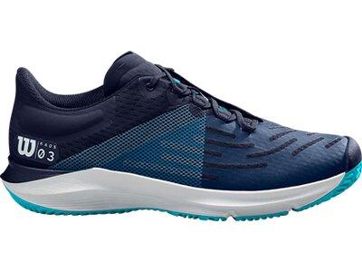 WILSON Herren Tennisindoorschuhe KAOS 3.0 Blau