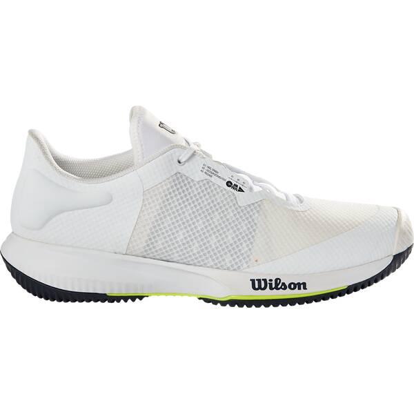 WILSON Herren Tennisoutdoorschuhe KAOS SWIFT Wh/Outer Spac/Safety Yel
