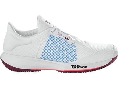 WILSON Damen Tennisoutdoorschuhe KAOS SWIFT W Wh/Chambray B/Fig Grau