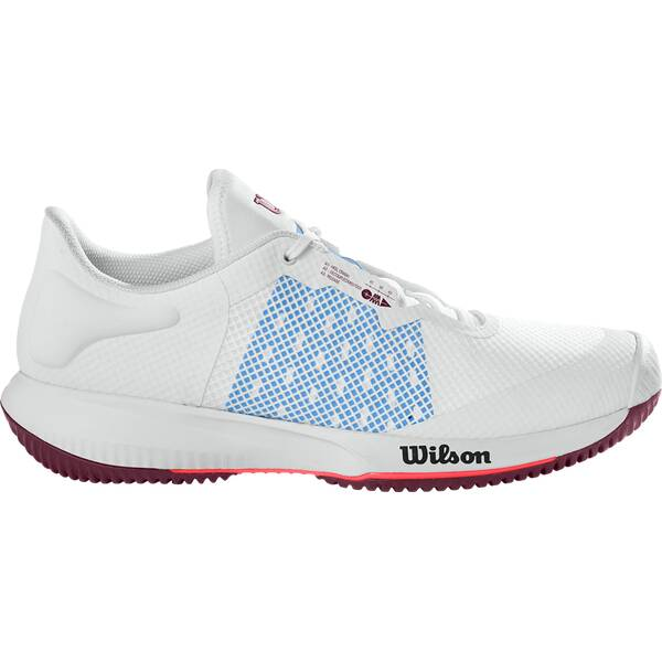 WILSON Damen Tennisoutdoorschuhe KAOS SWIFT W Wh/Chambray B/Fig