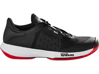 WILSON Herren Tennisoutdoorschuhe KAOS SWIFT Clay Bk/Pearl Blue/RD Schwarz