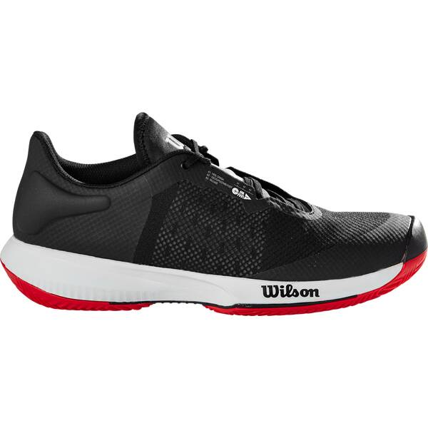 WILSON Herren Tennisoutdoorschuhe KAOS SWIFT Clay Bk/Pearl Blue/RD