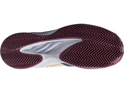 WILSON Herren Tennisoutdoorschuhe KAOS COMP 2.0 CC Outer Spac/Wh/Fig Silber