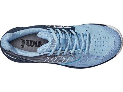 WILSON Damen Tennisoutdoorschuhe KAOS COMP 2.0 W Chambray B/Outer Spac/Wh Grau
