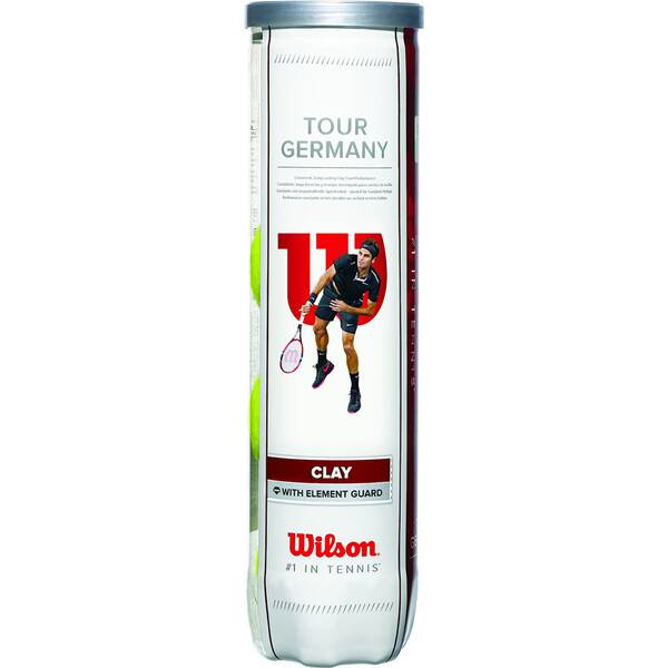 WILSON Tennisball TOUR GERMANY 4er Pack