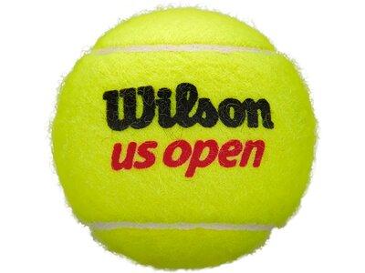 WILSON Ball US OPEN 4 4er-Pack Schwarz
