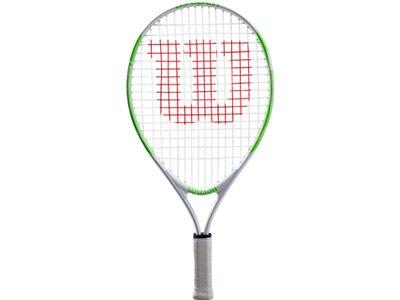 "WILSON Kinder Tennisschläger ""US Open 19"" - besaitet - 16x17 Silber"