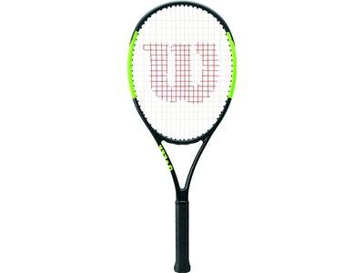 WILSON Kinder Tennisschläger BLADE 26 TNS RKT Grau