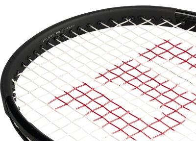 """WILSON Tennisschläger """"Pro Staff 97 ULS"""" - unbesaitet - 18 x 16 Weiß"""