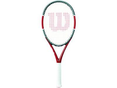 WILSON Herren Tennisschläger TRIAD FIVE Weiß