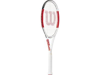 WILSON Herren Tennisschläger SIX.ONE TEAM 95 RKT W/O CVR Weiß