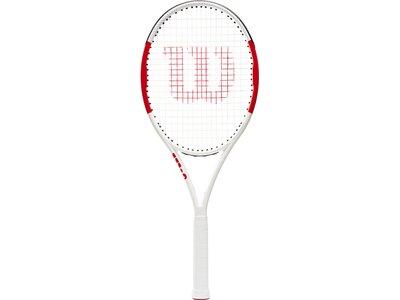 WILSON Herren Tennisschläger SIX.ONE LITE 102 Rot