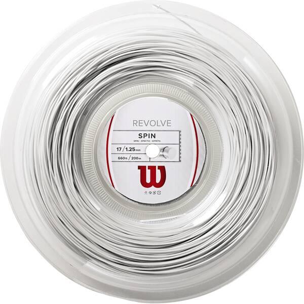 "WILSON Tennissaite ""Revolve"" 200m Rolle white"