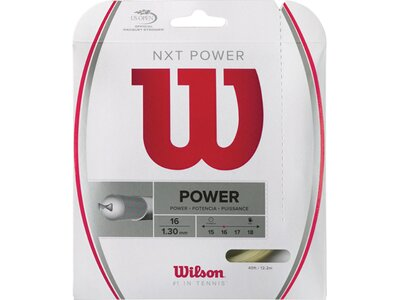 "WILSON Tennissaiten ""NXT Power 16"" Grau"