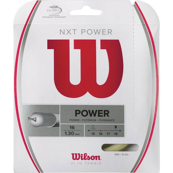 "WILSON Tennissaiten ""NXT Power 16"""