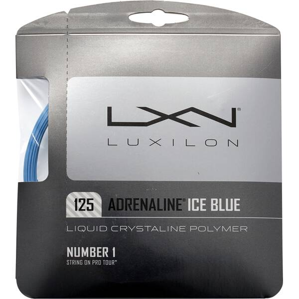 WILSON Tennissaite ADRENALINE 125 ICE BLUE