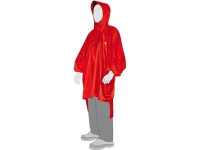 TATONKA Herren Poncho Poncho 3 (XL-XXL) Rot
