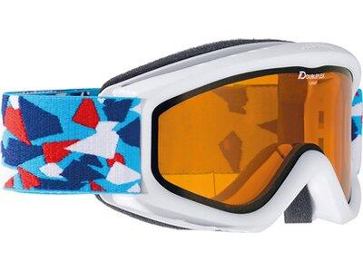 ALPINA Kinder Skibrille / Snowboardbrille Carat DH Blau