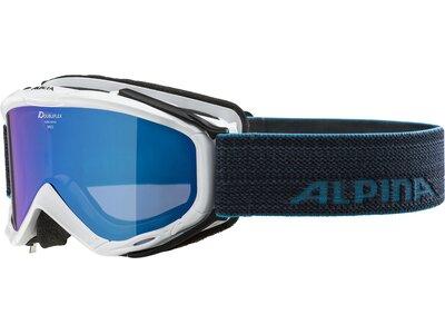 ALPINA Herren Skibrille Spice MM Blau