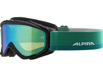 ALPINA Herren Skibrille Spice MM Grün