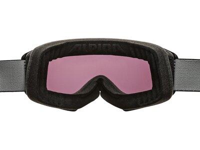 """ALPINA Skibrille """"Panoma Magnetic Q+S"""" Schwarz"""