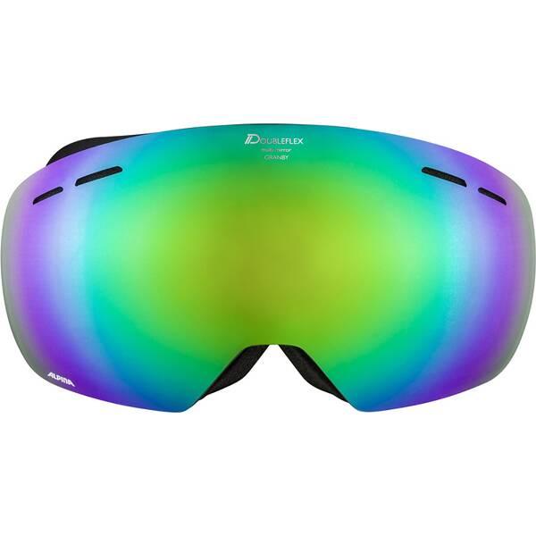 ALPINA Ski- und Snowboardbrille Granby MM grün