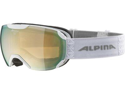 """ALPINA Herren Skibrille """"Pheos S HM"""" Silber"""