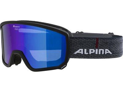 """ALPINA Herren Skibrille """"Scarabeo HM"""" Blau"""